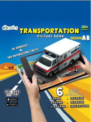 Transportation - Picture Book | Wizar Learning Solutions