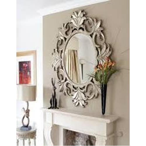 Living Romm Decorative Mirror 1 To 5 Mm Rs 500 Piece Choudhary Art Glass Work Id 20250127712