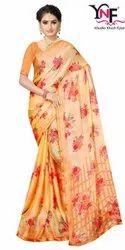 Shivangi Vol 3 Pc Moss Chiffon Border Printed Saree