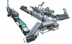 Fully Automatic Potato Chips Plant
