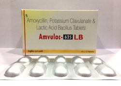 Amoxicillin, Potassium Clavulanate And Lactic Acid Bacillus Tablets