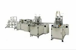 3 Ply Automatic Mask Making Machine With Single Auto Loop