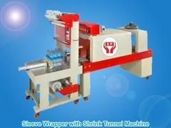 Sleeve Wrapper with Shrink Tunnel Machine