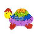 3D Puzzle - Turtle