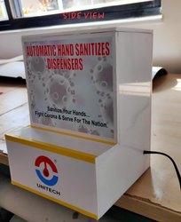 Fully automatic hand sanitizing machine