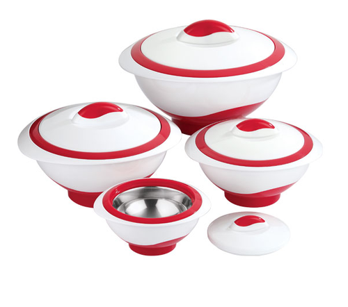 White And Red Pinnacle Opaque 4 Pcs Gift Set