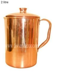 Plain Pure Copper Jug