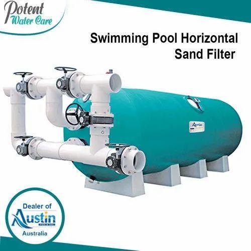 Swimming Pool Sand Filter - Horizontal Sand Filter ...