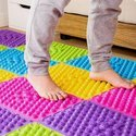 Multicolor Pvc Acupressure Foot Mat