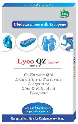 Coenzyme with Carnitine,Arginine & Lycopene