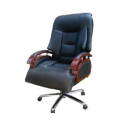 Revolving Leather Luxury Chair