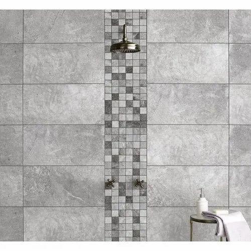 Matt Grey Bathroom Wall Tiles Thickness 5mm Rs 200 Square Feet Kakade Enterprises Id 21652698362