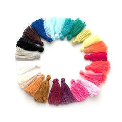 Colorful Cotton Tassels