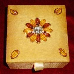 Decorative Zari Embroidery Box