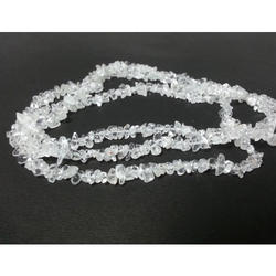 Natural Crystal Quartz Raw Uncut Chip Beads