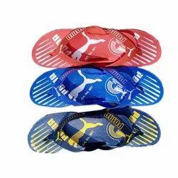 Mens Printed Daily Wear EVA Slipper, Size: 6-9
