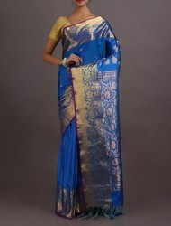 Pure Gadwal Silk Saree