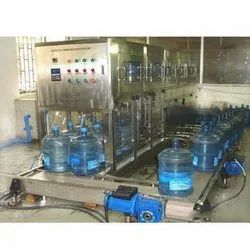 Automatic 20 Liter Jar Washing & Filling Machine