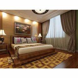 Wooden Designer Double Bed