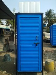 FRP Toilet Cabin with water tank