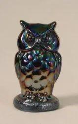 Glass Modern Owl