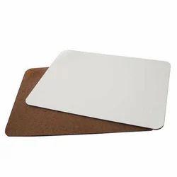 Imported White Sublimation MDF Sheet 3mm US Unisub Quality Single Side