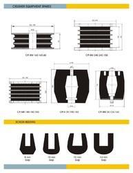 Crusher Rubber Parts