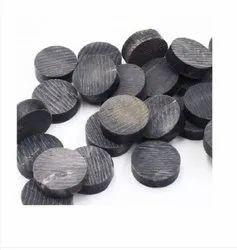 Black Horn Button Blanks