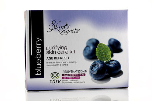 Skin Secrets Blueberry Facial Kit, Packaging Size: 410 Gm, for Personal,Parlour