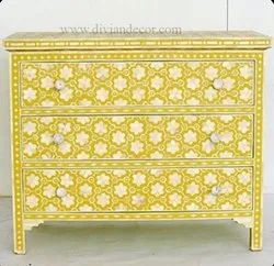 Mother Of Pearl Chest Drawer