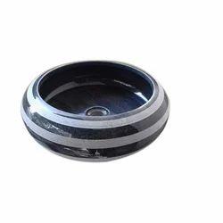 Round Black Marble Sink