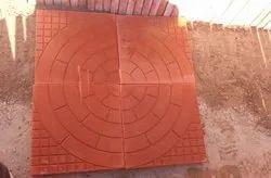 Outdoor Floor Red Tiles
