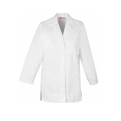 Plain Polyester White Doctor Coat