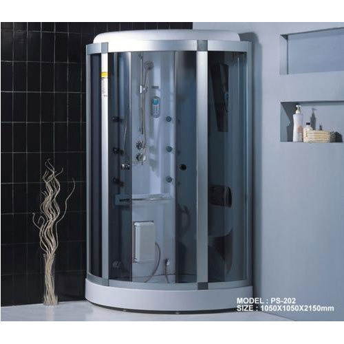 Corner Shower.Stainless Steel Glass Corner Shower Cubicle Rs 100000 Unit Id