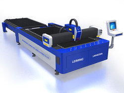 LM4020A Steel Fiber Laser Cutting Machine with Shuttle Table