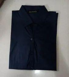Ladies Plain Satin Shirt