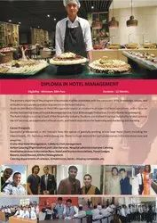 1 Yera Diploma in Hotel Management, Type Of Industry Business: Education