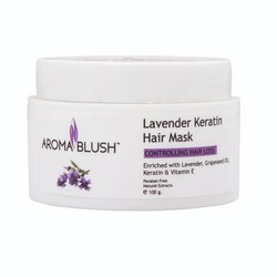 Aroma Blush Lavender Keratin Hair Mask, Paste, Pack Size: 500, 100g