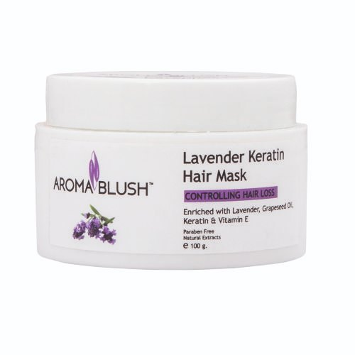 Aroma Blush Lavender Keratin Hair Mask, Paste, Pack Size: 500,100g