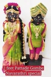 Marapachi Wooden Dolls, Size: 24 Inches