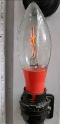 Red Colour Bulb