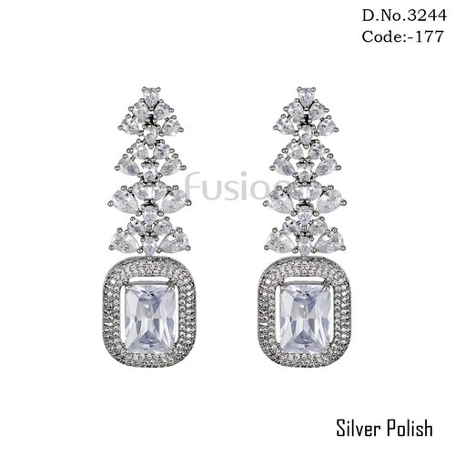American Diamond Studded Earring
