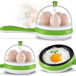 Egg boiler with Fry Pan