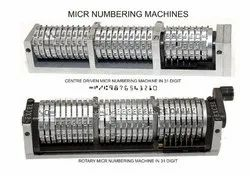 Micr Numbering Machine