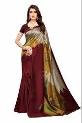 Art Silk Office Wear Sarees