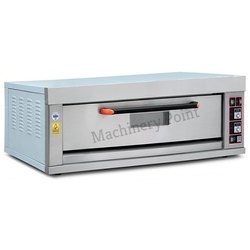 One Deck Two Tray Electric Deck Oven