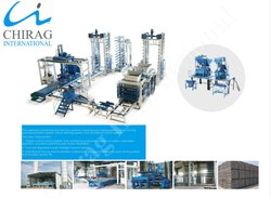 Chirag Hi-Technology Semi Automatic Concrete Block Making Machine