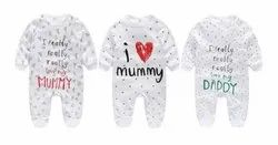 White Girl & Boy Infant Suits