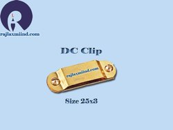 DC Clip, DC Tap Clip 25 X 3, Tap Clip, Brass DC Clip