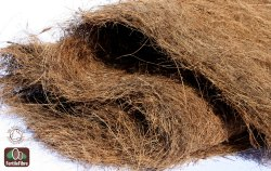 Brown coconut coir fiber, Packaging Type: Carton Box, Packaging Size: Bag